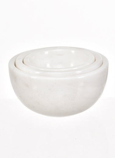 Gaya Stone Kase Beyaz